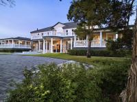 Majestic neo-classical estate is positioned on a