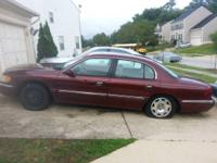 Selling parts for this 1999 Lincoln Continental. Parts