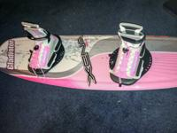 BRAND NEW.  NEVER USED WAKEBOARD, BOOTS AND BINDINGS.