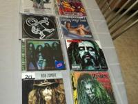 HERE WE HAVE A RARE LOT OF 11 WHITE ZOMBIE CDS RARE