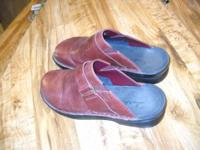 Vintage Shoes Clark's Brown Leather Lee Sands Hawaii --