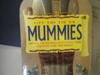"This kit is called ""Lift the Lid on Mummies"", produced"