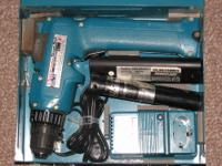 "Up for sale is Makita 6093D 9.6V DC NiCd 3/8"" Cordless"