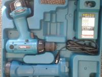 This Makita Drill with Flashlight & & Charger is a take