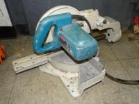 "Makita LS1011 Compound Sliding 10"" Miter Mitre Saw,"
