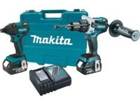 "Kit Includes 1/2"" Brushless Hammer Driver-Drill,"