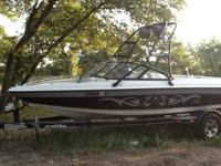 2001 Malibu Wakesetter 21' direct drive in great