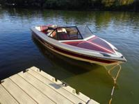 MALIBU SKI BOAT FOR SALE--- INBOARD -  -- 1987  1250