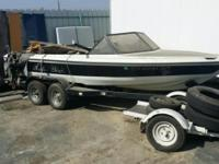 19 ft Ski Boat and trailer 2 axle theft recovery no