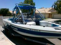 I HAVE A 1990 21.5 FT.MALIBU OPEN BOW SUNSETTER,GREAT