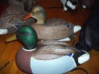 I have a pair of mallard decoys a drake and a hen. The