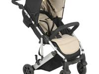 Baby can travel in style and comfort with this