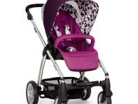 The Mamas & Papas Sola Stroller in Plum is an