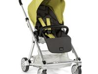 Mamas & Papas Urbo Stroller in Lime Jelly is compact