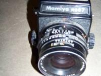 A used, in good condition Mamyia RB Camera for sale.