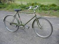 "Vintage CCM Elan 3-speed man's cruiser with 26"" tires."