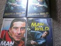 I am selling my man vs. wild season 1,2 and 3 dvds. I