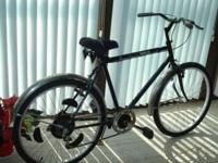 "Guy's 26"" 6 speed, black, modifications gears"