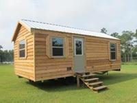 This cabin is complete and ready to be delivered to you