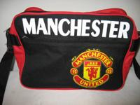 A brand new Manchester United Canvas Bag sponsored by