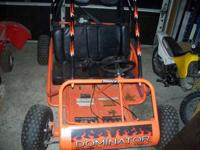 2004 Manco Dominator 2-seater Go-Cart. In terrific