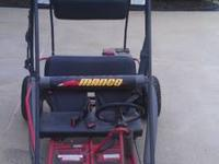For sale a manco gocart. Has been stored for 5years.