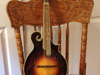 "SAVANNAH ""F"" Style Mandolin, excellent condition,"