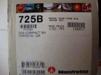 I have a just like new Manfrotto tripod for sale. We