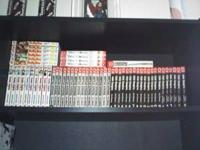 Selling all of my manga for $5 a book. All books are in