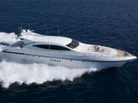 Mangusta 108 Mega Yacht with spacious 4 cabin layout