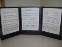 This is a music folder which extends the music stand