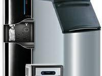 Our ice machines for businesses and schools use the