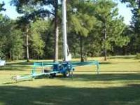 40ft Eagle Manlift, $5200.00 OBO. Call  Location: