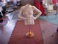 HAVE A NICE MANNEQIN IN GOOD CONDITION, STANDS 44''