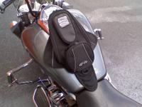 The MANTA TANK BAG from JOE ROCKET looks fast standing