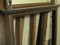 Antique Hand Hewn Barn Beam Fireplace Mantel shelves,beams ...