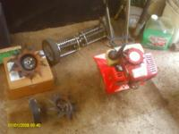 i have a mantis rototiller with attments selling for
