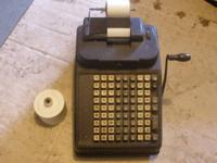 Burroughs Adding Machine Works Great-I don't know what