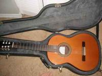 Manuel Rodriguez Model A: nylon string classical guitar