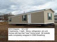Several good single wides & double wide homes now