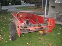 We have a used 2004(?) 50 bushel manure spreader in