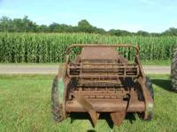 Ground driven manure spreader. works great good tires.