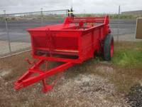 mid size manure spreader, new floor, new paint. up to