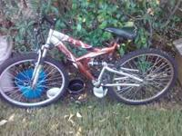 I have bikes and parts 1 is a mens full suspension