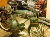 I HAVE VINTAGE ANTIQUE BIKES TANK BIKES AND HYBRID BIKE