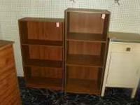 Many Different Sized Bookshelves at reasonable prices.