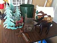 Moose decor, cookie jar, clock,, candle, etc... 20 for