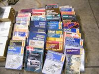 TO many automotive repair manuals to list all of them!!