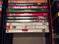 Many Popular DVDs $2/each or 10 for $15  See photos.