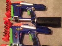 I have numerous toys and a number of Nerf Guns for